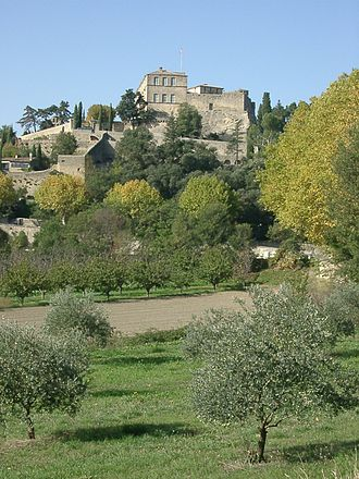 Ansouis - View of Ansouis