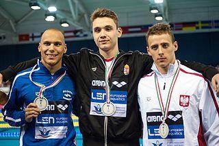 Antani Ivanov Bulgarian swimmer