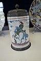 Antique beer stein with horseman (24160385124).jpg