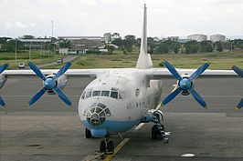 Antonov An-12 van Astral Aviation