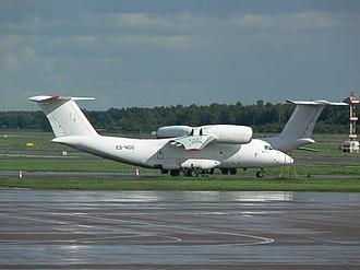 Antonov An-72 - Two An-72s at Tallinn Airport in 2006