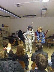 Aouda.X space suit simulator