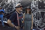 Apollo 11 astronaut Buzz Aldrin and Erisa Hines try out Microsoft HoloLens (29712151571).jpg