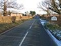 Approaching Tattenhall along Frog Lane. - geograph.org.uk - 332878.jpg
