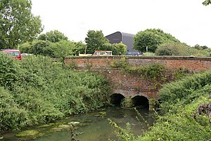 Beverley and Barmston Drain - The tunnel carrying the drain under Beverley Beck