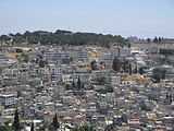 Arabic buildings, Mount of Olives, Jerusalem.jpg