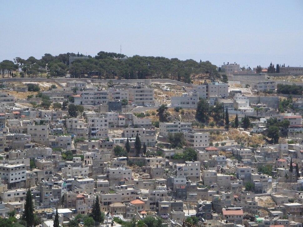 Arabic buildings, Mount of Olives, Jerusalem