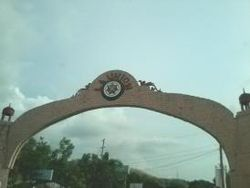 Welcome Arch of La Union at the La Union-Ilocos Sur border