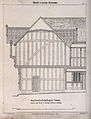 Architectural details of Grey Friar's Hospital, Coventry. Tr Wellcome V0012518.jpg