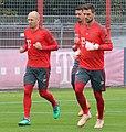 Arjen Robben Sandro Wagner Sven Ulreich Training 2018-10-09 FC Bayern Muenchen-1.jpg