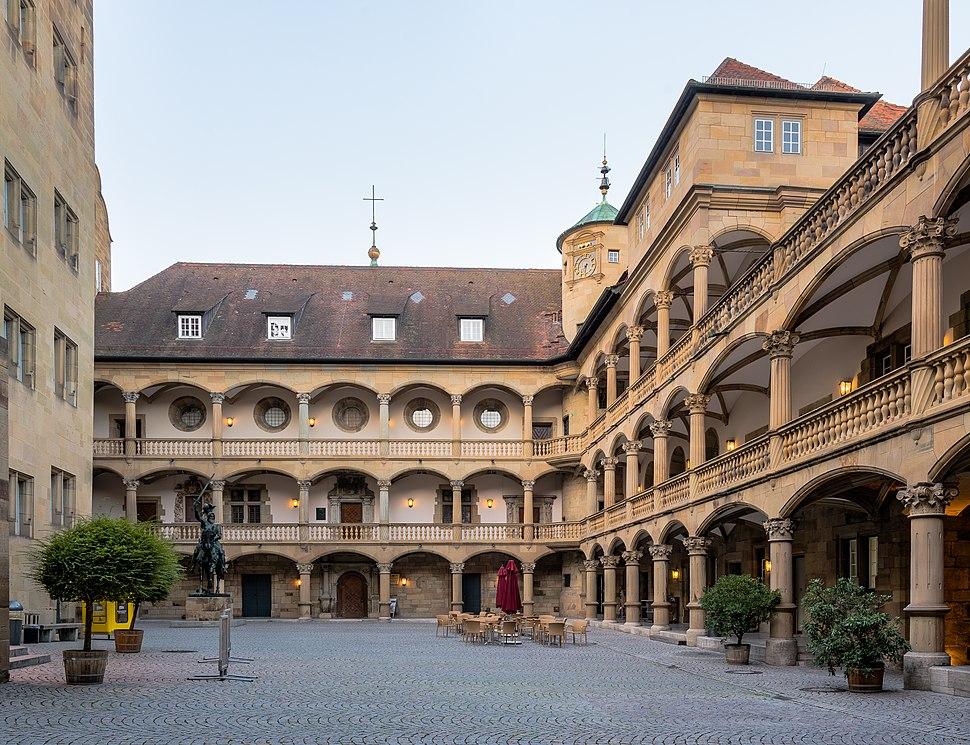 Arkadenhof Altes Schloss Stuttgart 2015 02