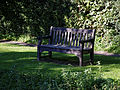 Arkesden footpath bench seat, Essex, England.jpg