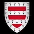 Arms of Sir Sanchet D'Abrichecourt, KG.png