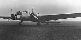 Armstrong Whitworth Whitley - A Whitley prototype, circa 1936
