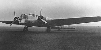 Armstrong Whitworth Whitley - A Whitley prototype, circa 1936