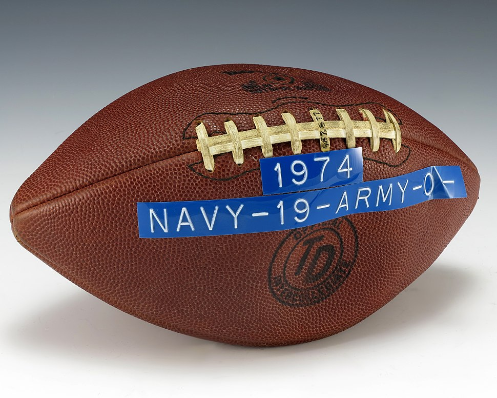 Army-Navy 1974 Game Football (1987.577)
