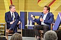 Arnold Schwarzenegger and Former CA Assembly Minority Leader Chad Mayes at the first New Way California event in Los Angeles (27088818158).jpg