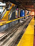 Arriving M3 Train LIRR at Penn Station New York.jpg