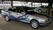 Art Car no. 9, 535i Matazo Kayama, 1990.jpg