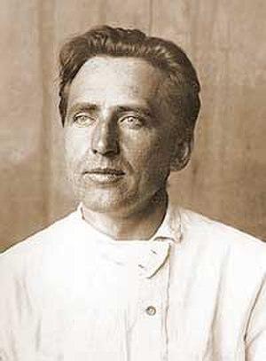 Mikhail Artamonov - Mikhail Artamonov in his student years