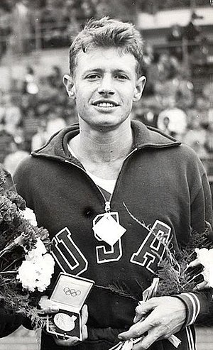 Arthur Barnard - Barnard at the 1952 Olympics