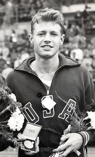 Arthur Barnard - Barnard at the 1952 Olympics