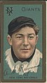 Arthur L. Raymond, New York Giants, baseball card portrait LCCN2008677499.jpg