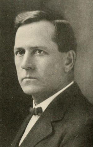 Arthur R. Hall - Hall pictured in The Illio 1912, Illinois yearbook