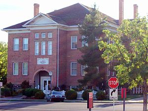 Dixie State University - The Dixie Academy building in St. George, the original home of St. George Stake Academy