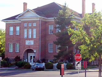 Dixie State University - The former Dixie Academy building in St. George, the original home of St. George Stake Academy