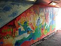 Artwork in the subway at Conwy - geograph.org.uk - 695851.jpg
