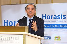 Arun Shourie, Former Minister of Disinvestment, at Horasis Global India Business Meeting 2009.jpg