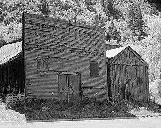 Aspen, Colorado - Aspen Lumber Company, 1882