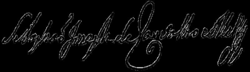 File:Assinatura Marquês de Pombal.png