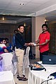 Aswiki2019- A participant being felicitated by others during the workshop 02.jpg