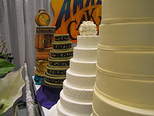 Wedding Cakes At The Seattle Bridal Show