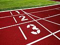 Athletics track start line numbers 1, 2, 3 (20170619).jpg