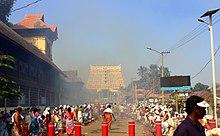 Worship During Attukal Pongala At Sree Padmanabhaswamy Temple