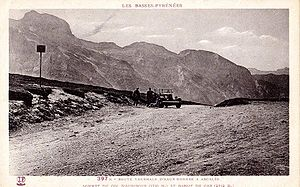 Col d'Aubisque - The Aubisque in 1910.