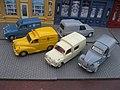 Austin A35 & Morris Minor Van, Seat 600 Formichetta, Citroen 2CV AZU & Renault 4 F4 (10606509214).jpg