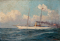 Austrian steam-sailing-yacht SUZUME in 1894.png