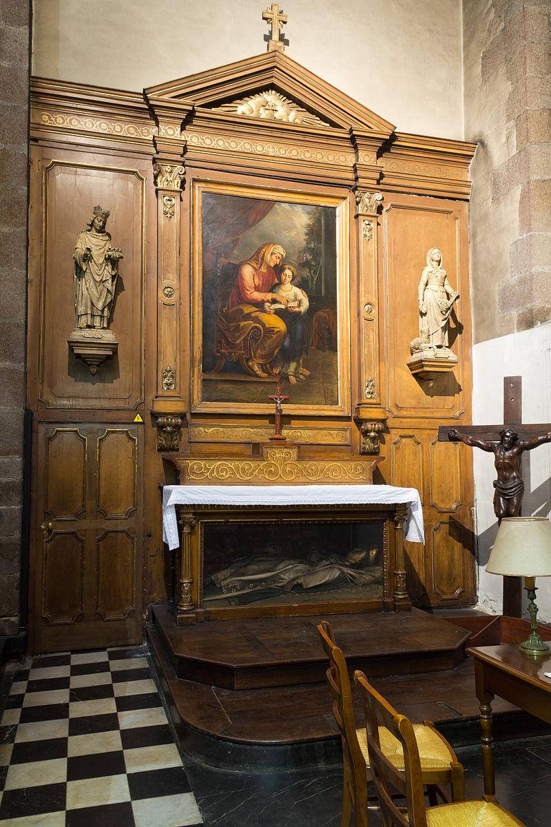 Français:  Autel de saint Louis et sainte Anne.