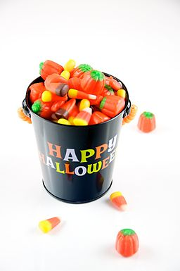 Automn Mix Candy in Happy Halloween Pail (5076303357)