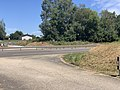 Autoroute A40 vue depuis Voie Service Rue Serve Gachet St André Bâgé 2.jpg