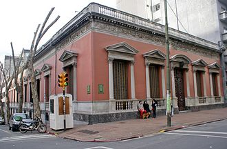 Ministry of Foreign Relations (Uruguay) - Palacio Santos, seat of the Chancellary of Uruguay.