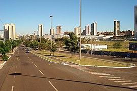 Avenida Afonso Pena, Campo Grande - Julho 2006
