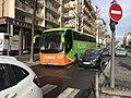 Avenue Berthelot, Lyon - Flixbus vert.JPG