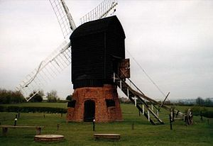 Avoncroft Museum of Historic Buildings - Image: Avoncroft Windmill