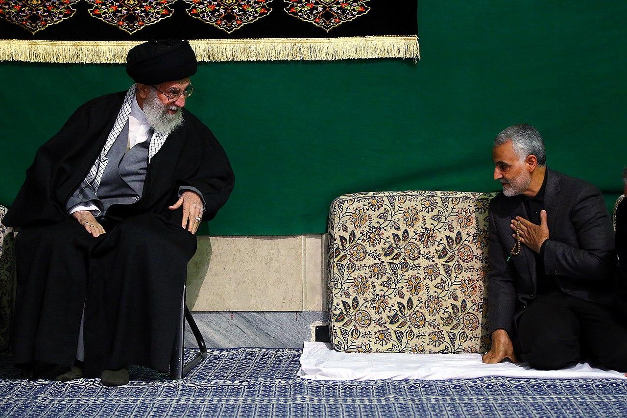 Ayatollah Sayyed Ali Khamenei And Qasem Soleimani01.jpg