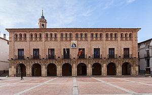 Ateca - Image: Ayuntamiento, Ateca, Zaragoza, España, 2013 01 07, DD 01